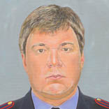 Someone from the Main Police Service. 2014. Canvas, acryl. 70*55 sm